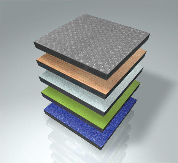 硫酸钙木纹地板