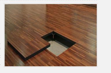 硫酸钙地板(木纹面)