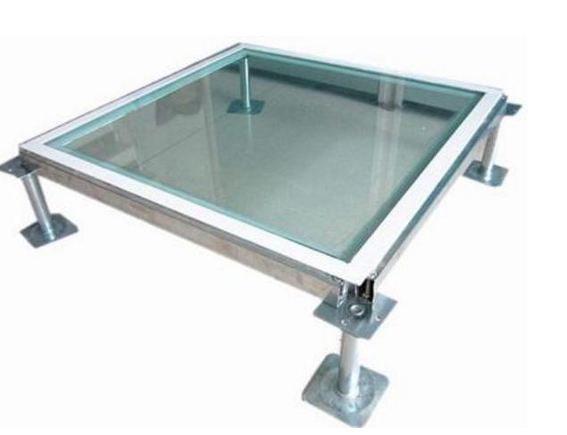 玻璃架空地板